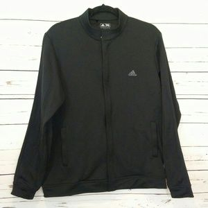 Adidas athletic zipper jacket size M